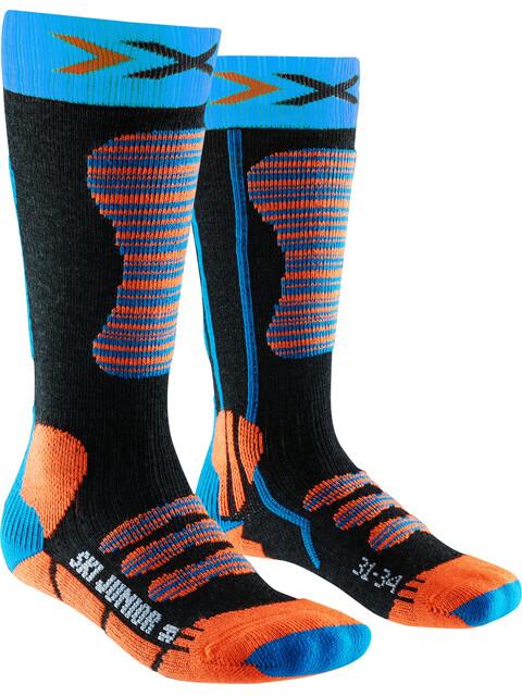 X-Bionic Ski Socks Junior Turquoise/Orange